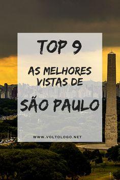 Dicas de mirantes em São Paulo. Descubra quais são os lugares de onde é possível ver a cidade do alto e apreciar belas vistas da cidade.