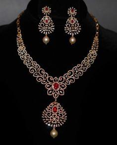 Diamond Necklace Sets - Necklace sets - Diamond Jewelry