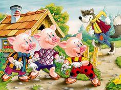 The Three Little Pigs - Kids Yoga Story Class Plan