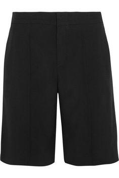 Chloé - Crepe Shorts - Black - FR36
