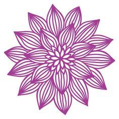 flower papercut by Jennifer Wambach Design ID #116961 Published: 1/26/2016 Regular cut