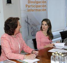 Princess Letizia - Princess Letizia at the Scientific Foundation Board Meeting