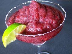 Frozen Raspberry Margarita | Felicity Huffman's What The Flicka? #drink #recipe #alcohol #cocktail #fruit #margaritaville #yum #easy