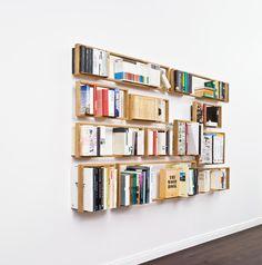 schwebende Bücher // floating books
