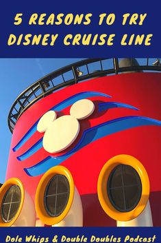 On this podcast episode of Dole Whips & Double Doubles, we talk all about Disney Cruise Line and why you should book with DCL if you're thinking of a cruise. Disney Cruise Tips, Disney Vacation Planning, Best Cruise, Disney Resorts, Cruise Vacation, Disney Vacations, Florida Vacation, Disney World Guide, Disney Planner