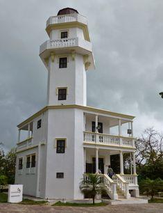 #Mexico: #Lighthouse ISLA AGUADA, CAMPECHE - http://dennisharper.lnf.com/