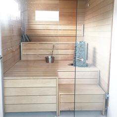 Kivi heater offers soft sauna bath. Nordic Home, Scandinavian Home, Nordic Style, Sauna Design, Finnish Sauna, Spa Rooms, Minimal Design, Comfort Zone, Own Home