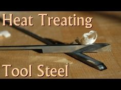 Heat Treating 01 Tool Steel Plane Blank Irons at Home Metal Projects, Welding Projects, Metal Crafts, Diy Projects, Blacksmithing Knives, Forging Metal, Forging Tools, Sharpening Tools, Knife Making Tools