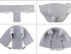 T-shirt Au Crochet, Crochet Waffle Stitch, Crochet Shirt, Crochet Jacket, Crochet Slippers, Crochet Granny, Double Crochet, Sweater Knitting Patterns, Knitting Stitches