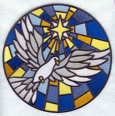 Machine Embroidery Designs at Embroidery Library! - Stained Glass ...