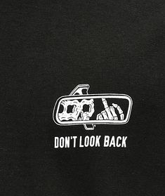 Lurking Class By Sketchy Tank Lurking Class Look Back Black T-Shirt Line Tattoos, Body Art Tattoos, Sleeve Tattoos, Tank Tattoo, Photowall Ideas, T Shirt Noir, Skeleton Art, Skull Wallpaper, Dont Look Back
