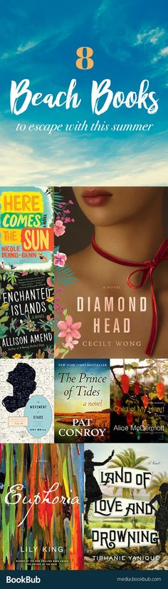 8 beach reads worth reading summer 2017. These would make great books for vacation!