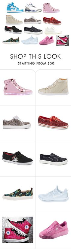 """Sneakers"" by themusicgeek32 on Polyvore featuring Keds, Gucci and NIKE"