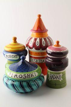 Russian Cookie Jars!