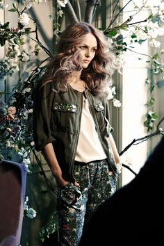 Vanessa Paradis H and M Conscious Collection - Garment Clothing Recycling Scheme (Vogue.com UK)