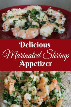 Delicious Marinated Shrimp Appetizer A simple make ahead dish for your next party Combine fresh shrimp onion parsley and a delicious dressing Shrimp Appetizer Shrimp App. Cold Party Appetizers, Appetizers For A Crowd, Seafood Appetizers, Appetizers For Party, Seafood Recipes, Party Snacks, Parties Food, Cold Shrimp Salad Recipes, Make Ahead Cold Appetizers