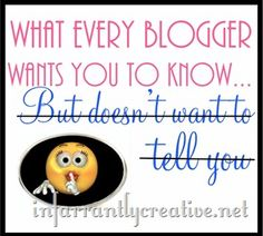 One blogger's opinion about linky parties and blog etiquette via @infarrantly