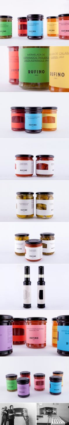 Rufino 1949 Pays Tribute To Its Origins in a Unique Way — The Dieline Cafe Branding, Branding Design, Food Packaging, Brand Packaging, Design Awards, Design Trends, Label Design, Package Design, Graphic Design
