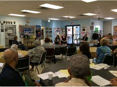 She visited Meals on Wheels in Nanuet to talk about a retirement security plan for those who care for family members and loved ones. ---proposed SS pay for caregivers