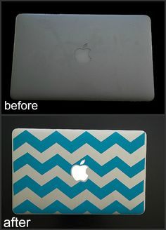 DIY Laptop Skin- Must do this!!!!