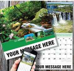2021 Go Green Wall Calendars low as Printed with your Business, Organization or Event Name, Logo and Message. Calendar App, Print Calendar, Promotional Calendars, Date Squares, Wall Calendars, Us Holidays, Free Advertising, Carbon Footprint, Go Green