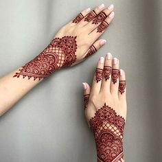70 Easy and Easy Mehndi Forms for Beginners with Images - Mehndi - Henna Designs Hand Henna Hand Designs, Dulhan Mehndi Designs, Mehndi Designs Finger, Mehndi Designs For Beginners, Modern Mehndi Designs, Mehndi Design Pictures, Mehndi Designs For Girls, Mehndi Designs For Fingers, Latest Mehndi Designs