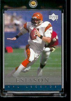 boomer esiason football card  | Upper Deck Legends Boomer Esiason Cincinnati Bengals #8 Football Card ...