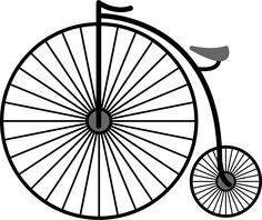 dibujos bicicletas antiguas para colorear - Buscar con Google