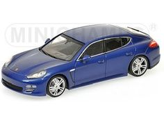 The 1/43 Metallic Blue 2011 Porsche Panamera 4 from the Minichamps 1/43 Road Cars collection - Discounts on all Minichamps diecast models at Wonderland Models. One of our favourite models in the Minichamps 1/43 Road Cars range is the Minichamps Metallic Blue 2011 Porsche Panamera 4.