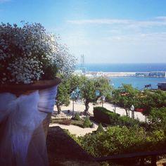 #Boda con vistas al #mar en #Barcelona www.bodas-eventos-celebraciones.com