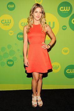 Emily Bett Rickards, 2013 CW Upfronts