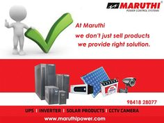 13 Best MARUTHI POWER SYSTEMS images in 2019   Chennai, Control