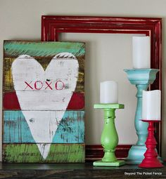 XOXO Reclaimed Wood Heart http://bec4-beyondthepicketfence.blogspot.com/2015/01/xoxo-reclaimed-heart.html