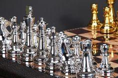Chess Board (Gold & Silver)Bruce Tsao
