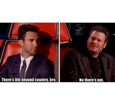 You tell 'em Blake