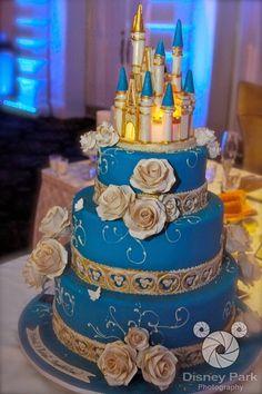Cinderella Castle cake