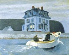 """Currier Collections Online - """"The Bootleggers"""" by Edward Hopper"""
