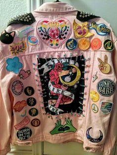 Sailor Moon Punk Jacket – Chell~Bell Craft Source by melisaseki clothes ideas jackets