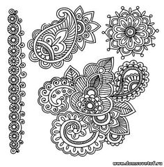 Символы мехенди. Эскизы мехенди