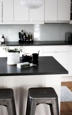 Image result for designing around black granite benchtops
