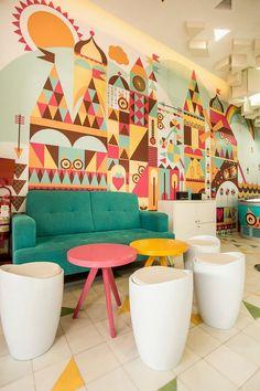 Green Pear Diaries: La heladería Madness Creamery... Un chispazo de diseño, color y sabor en Arequipa, por id 12º77º :)