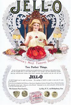 Jell-O, 1912 advertisement.