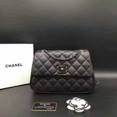 Chanel Mini Quilted Calfskin Flap Bag A98549 Whatsapp:+8615817091613 for more pics and other payment options.
