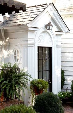 Great small entrance addition                     Habersham Road: Home Renovation. Mike Hammersmith, Inc. - Atlanta Custom Builder