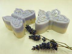 butterfly soaps Soaps, Panna Cotta, Butterfly, Ethnic Recipes, Food, Butterflies, Wood, Bath Soap, Dulce De Leche