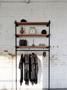 Wall Fixture-Reclaimed Wood Shelf Display by TylerKingstonWoodCo