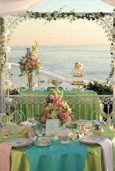 pretty tablescape