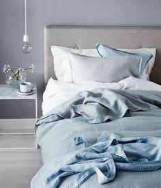 Bettwäsche aus Leinen | Hellgrau | Home | H&M DE