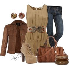 Funky Chunky, created by pamlcs on Polyvore