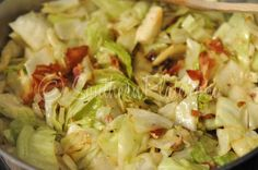 Fried Cabbage- and Southern Misconceptions